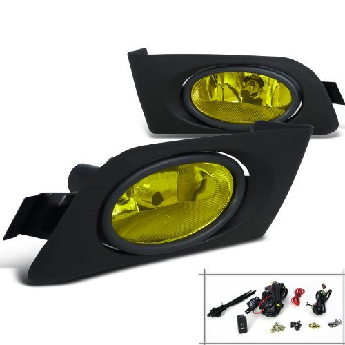 Spec-D Tuning LF-CV01AMOEM Yellow Fog Light