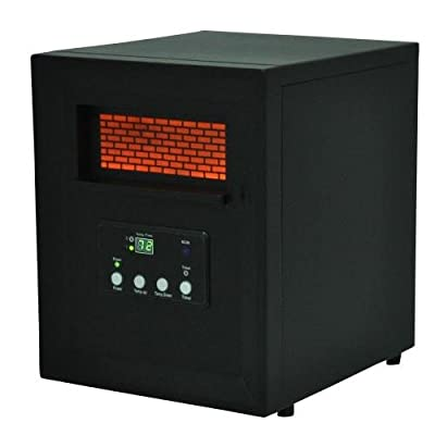 Lifesmart LS1002THD14 Life Pro Series 1000-Watt 4-Element Infrared Electric Portable Heater with Remote