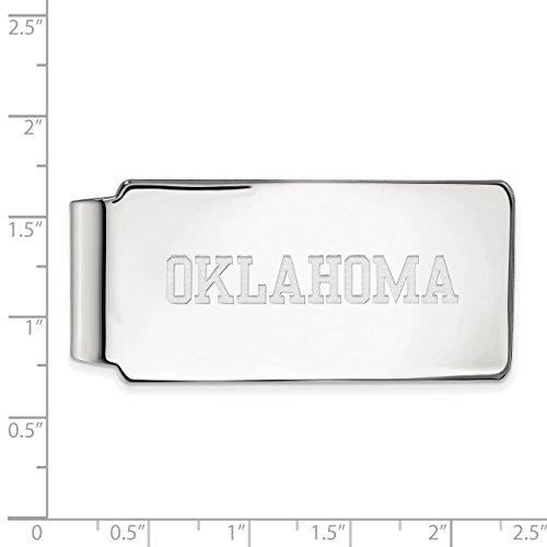 Lex Clip Oklahoma amp; Silver Money Lu University Sterling LAL147327 LogoArt of rrcOgF