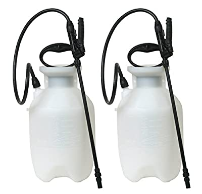 Chapin 20000 1-Gallon Poly Lawn, Garden, And Multi-Purpose Or Home Project Sprayer Great For Fertilizers, Weed Killers, And Common Household Cleaners, 1-Gallon (1 Sprayer/Package) (2 Pack)
