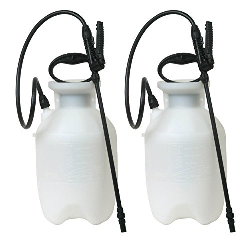 EIURYTEU 20000 1-Gallon Poly Lawn, Garden, And Multi-Purpose Or Home Project Sprayer Great For Fertilizers, Weed Killers, And Common Household Cleaners, 1-Gallon (1 Sprayer/Package) 2 Pack by Chapin International