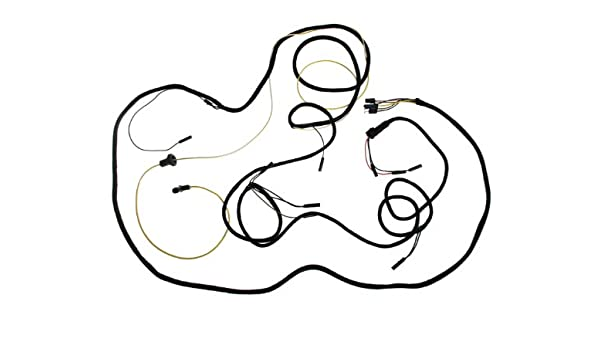 Amazon Com Mustang Tail Light Wiring Harness Fb 1965 1966 Automotive