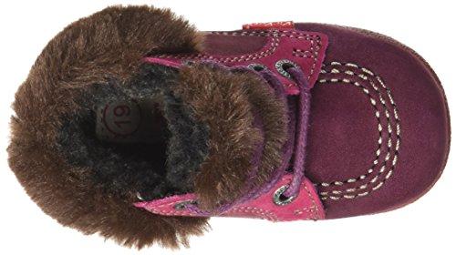 Kickers Babyfrost - Zapatos de primeros pasos Bebé-Niños Rouge (Bordeaux/Rose/Cho)