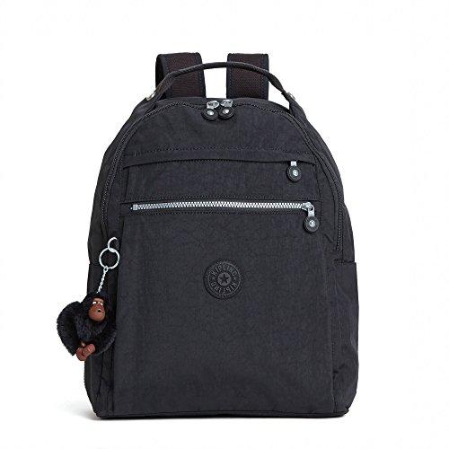 Kipling Micah Medium Backpack with Trolley Sleeve - Black