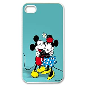 Personalised Phone case Disney mickey mouse For iPhone 4,4S S1T3405
