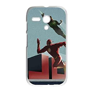 Motorola G Cell Phone Case White_Justice League Blast Off Mbfzf