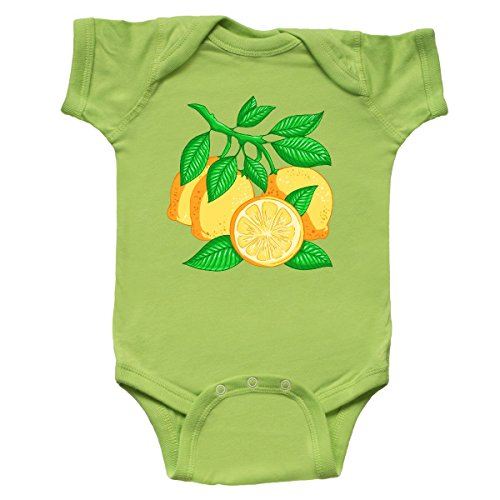 inktastic - I Love Lemons with Lemon Tree Infant Creeper Newborn Key Lime 2fdd0