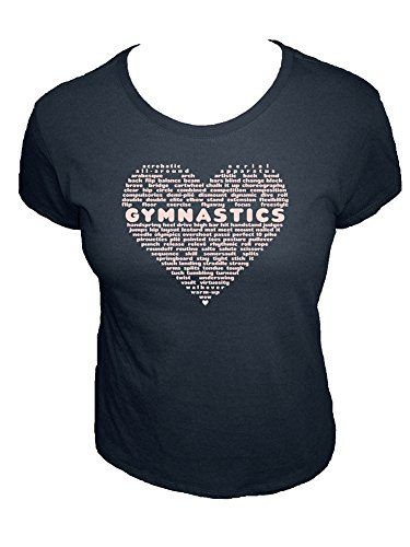 Ladies Charcoal Vault - Sunshine Mountain Tees Womens Organic Gymnastics Shirt L Charcoal Blue