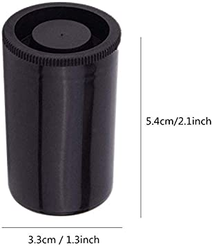 Clear 35mm Caliber Plastic Film Canisters-20pc