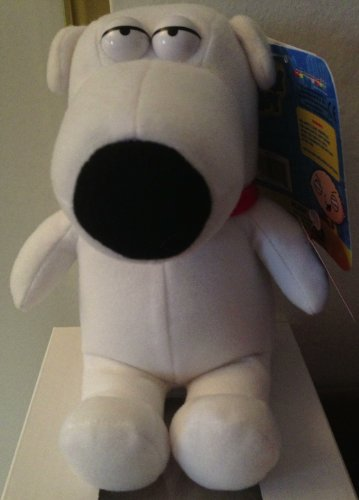 Family Guy Brian Griffin Dog Plush Doll Toy 6 Inch