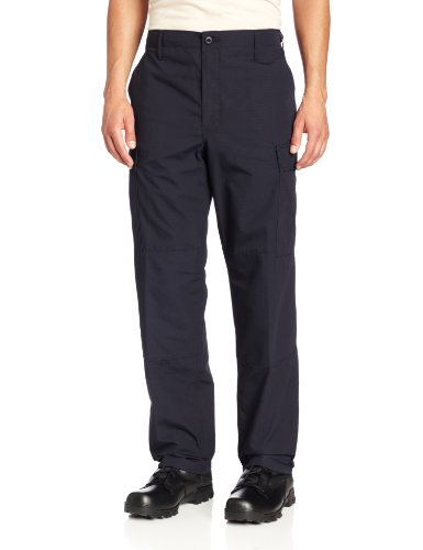 Propper Men's Zip Fly BDU Trouser, LAPD Navy, Large Short (Women Army Uniforms)