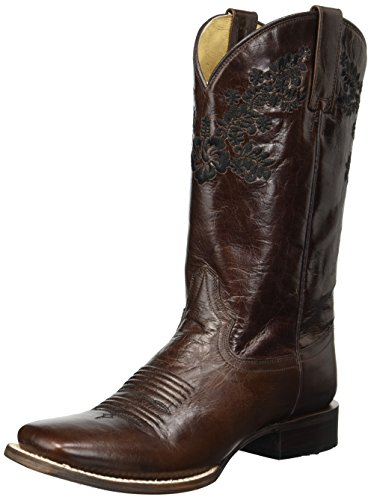Roper Women's Lola Western Boot Brown n6CAPxojp