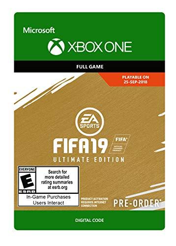 cheap for discount ed9df c0e26 Amazon.com  FIFA 19  Ultimate Edition - Xbox One  Digital Code   Video Games