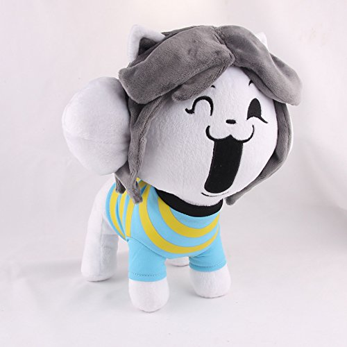 Undertale Temmie Stuffed Doll Plush Toy For Kids Christmas Gifts For Baby, Children By Ancientfrappy