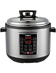 GoWISE USA GW22637 4th-Generation Electric Pressure Cooker with rice scooper, and measuring cup, 14 QT