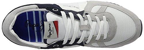 Jeans blu Pepe uomo Jack Tinker scuro Sneakers xv0Bq4fBwn