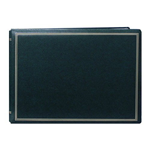 Pioneer Photo Albums Pioneer Postbound Deluxe Boxed Hunter Green Leatherette Magnetic Album by Pioneer Photo Albums