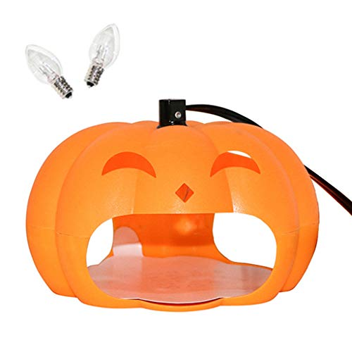nting Trap,Light Pumpkin Hunting Trap Moth Bug Killer Pet Dog Home Pest Controller ()