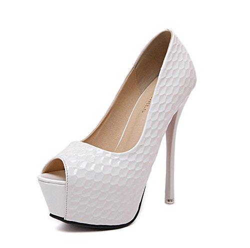 Inconnu 1to9mmsg00223 - Ballerines Pour Femmes, Blanc (blanc), 35 Eu