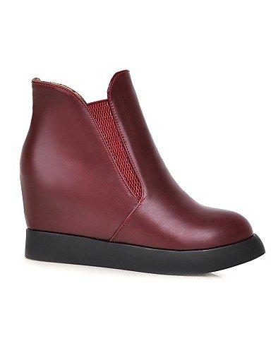 Cn43 La Moda 5 Red Zapatos 10 us9 Rojo Uk8 Eu41 8 De Plataforma Casual Mujer Botas Vestido 5 Xzz Vellón Uk7 us10 Blanco Cn42 Negro 5 Eu42 5 Red A n0RwYdxq06