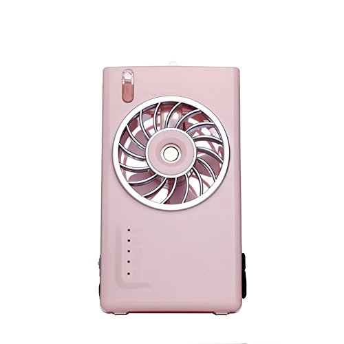 GX&XD Portable Spray Electric fan,Small air conditioner Mini Air cooler Student dorm room Office Rechargeable portable Small desktop fan-B