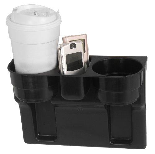 Accesorios personalizados 91125 Black Seat Wedge Cup Holder