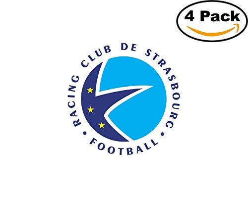 fan products of Strasbourg France Football Club Soccer FC 4 Sticker Decal 4X4