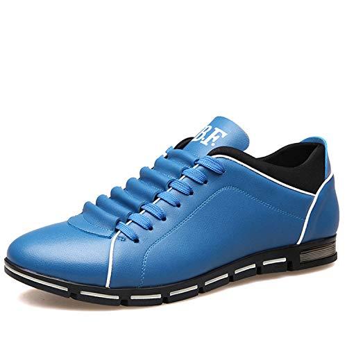 EU girocollo da Fuxitoggo 40 ginnastica con Scarpe Cachi da alto Blu comode larghe Colore tacco uomo Dimensione Aq6TcA