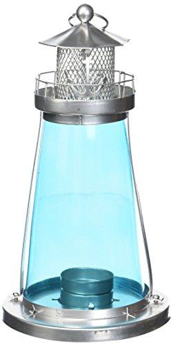 Blue Glass Lighthouse Lantern by (Glass Lighthouse)