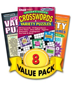(Crossword & Variety Value Pack-8 Pack)