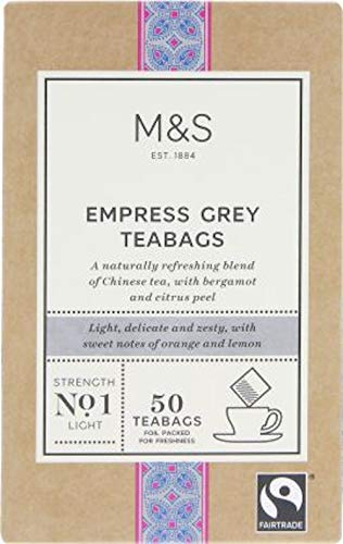(Marks and Spencer Empress Grey 50 tea bags 125g (1 Pack) Usa Stock)