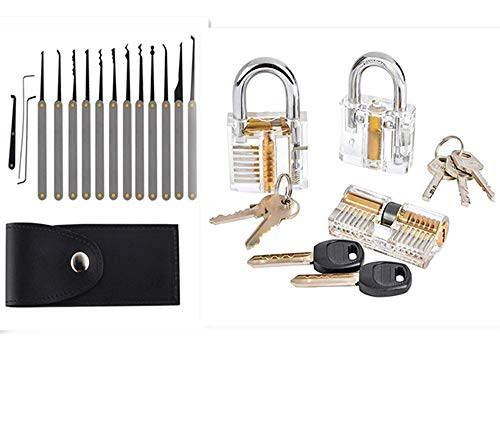 Multi-Tool Set (12+3-Piece Set) Training Kit With 3 pcs Clear Toys For Beginners And Professionals