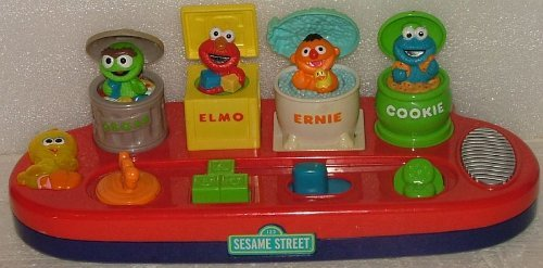 Sesame Street Pop up Singing - Duckie Ernie Rubber