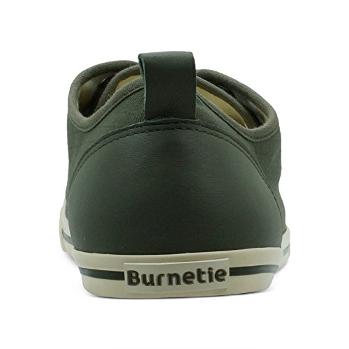 Burnetie Men's Olive Solid Plaid Ox Vintage Sneaker cheap wide range of buy cheap really buy cheap popular outlet shopping online sale low shipping JfCoymXb