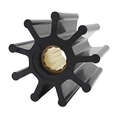 GHmarine New Flexible Impeller for Jabsco 6760-0001 18-3304 500115T