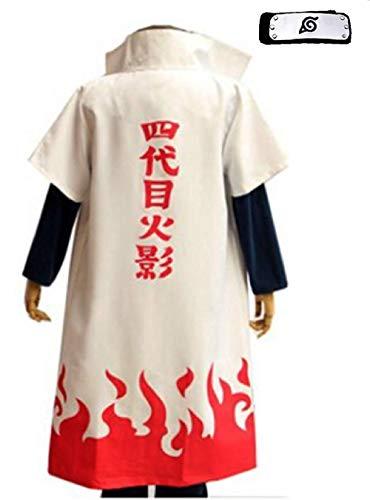 - Fuji 4Th Hokage Cosplay Costume Japanese Anime Naruto Cosplay
