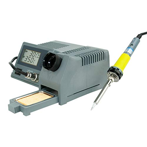 Velleman VTSSC40NU Soldering Station with LCD Ceramic Heater 48W 302 F – 842 F
