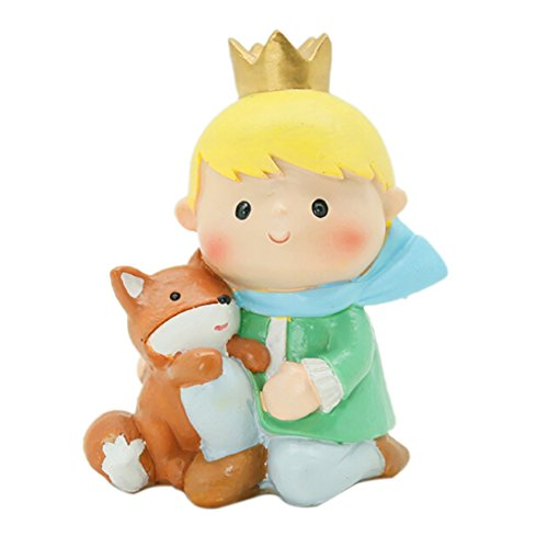 Forart Cartoon The Little Prince Crafts Decoration Prince Doll Figures Mini Prince Figure Collection Playset Toys Cupcake Topper Cake Toppers Cake Decoration