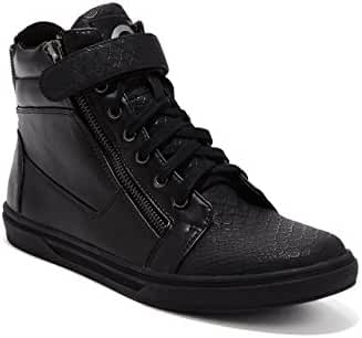 G by GUESS Men's Chase Zip High-Top Sneakers