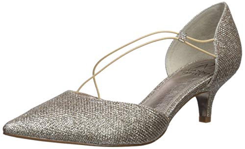 Adrianna Papell Women's LACY Pump, Platino, 8 M US
