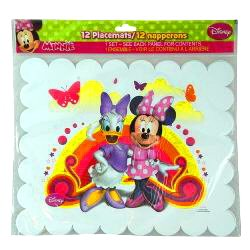 Disney Minnie Mouse and Daisy Party Placemats 12pc