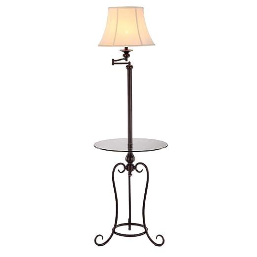 WANGXIAOWU Lámpara de pie Americana nórdica Simple IKEA Sala de ...
