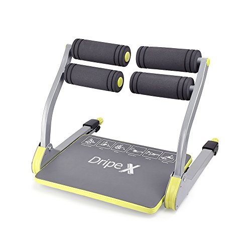Dripex 6 in 1 Core Smart Total Body Exercise Machine Abdominal Ab Toning...