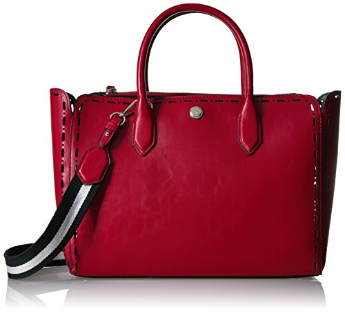 Nine West Sahara Tote, Black/Ruby red French Navy-Oxblood ()