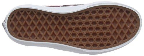 Vans Authentic, Zapatillas Unisex Niños Rojo (Suede Port Royale/Tweed Dots)