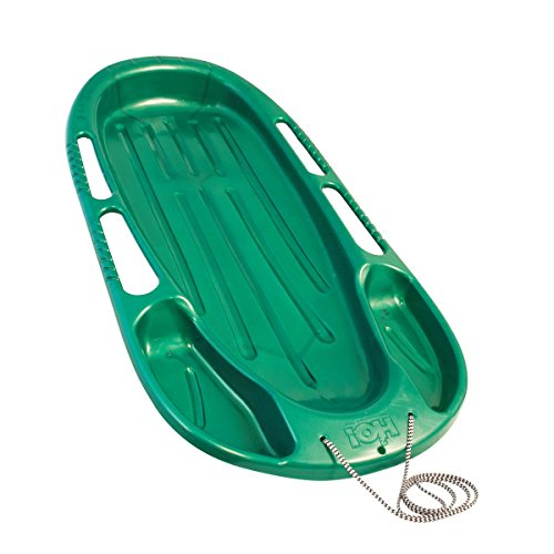 Mountain Sled (H2O! Recreation Sizzlin' Cool Heavy Duty Mountain Ranger Sled with Tow Rope)