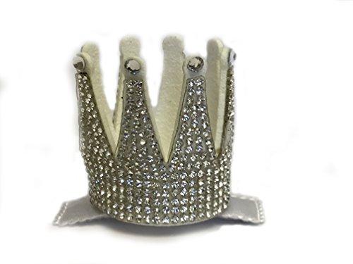 Bari Lynn Silver Crown Clip with Swarovski Crystals ()