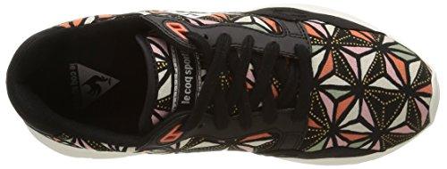 Lcs Sportif Noir Flamingo negro Deporte Zapatillas Le Black de Graphic Coq de R900 lona mujer C5PEcwqS