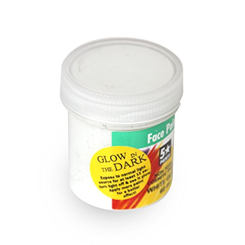 Face Paint Glow in the Dark White 60ml