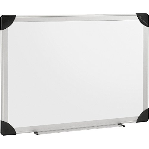 Lorell 55654 Dry-Erase Board, 8'x4', Aluminum Frame/White by Lorell